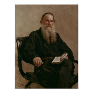 Lev Tolstoy 1887 Posters