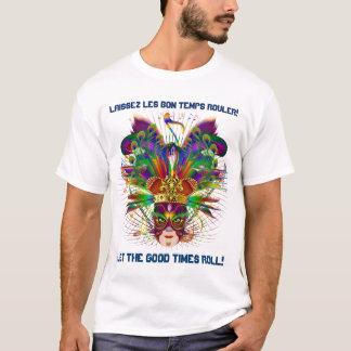 L'événement de carnaval de mardi gras regardent t-shirt