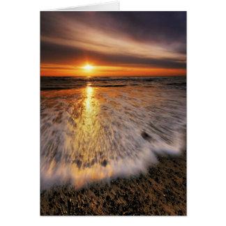 Lever de soleil 8. de plage de Southwold Cartes