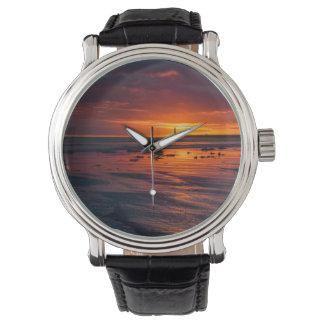 Lever de soleil à la montre de Roker