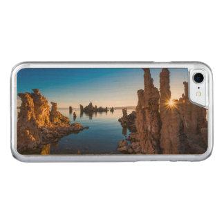 Lever de soleil au lac mono, la Californie Coque Carved Pour iPhone 7