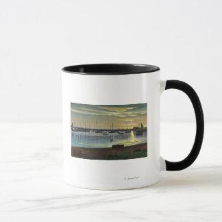 Lever de soleil au vieux port mugs