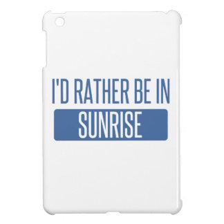 Lever de soleil coque pour iPad mini