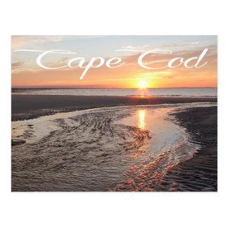 Lever de soleil de Cape Cod, Provincetown, carte Carte Postale