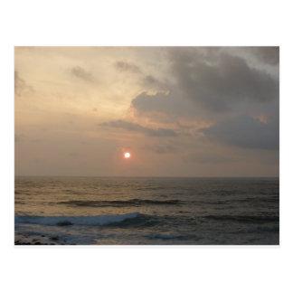 Lever de soleil de Kauai Carte Postale