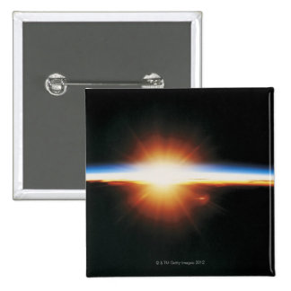 Lever de soleil de l'espace 2 badge