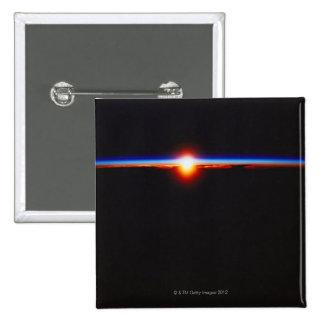 Lever de soleil de l'espace 3 badge