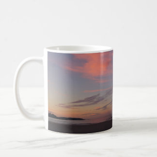 Lever de soleil de plage de Higgins avec deux Mug