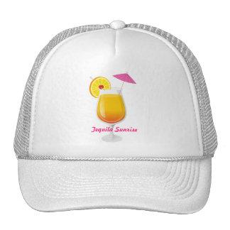 Lever de soleil de tequila casquette