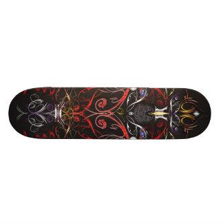 Lever de soleil démoniaque skateboard customisable