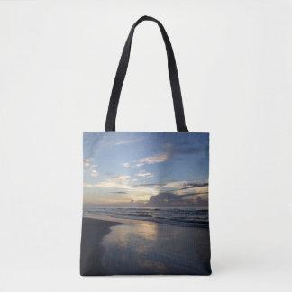 Lever de soleil, sac fourre-tout à plage de