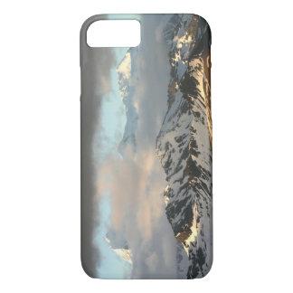 Lever de soleil sur les gammes de montagne sur les coque iPhone 8/7