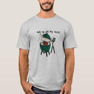 Levez-vous outre de mon gril, grand oeuf vert t-shirt