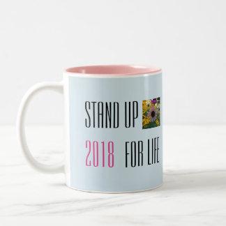 Levez-vous pour la tasse de la vie 2018
