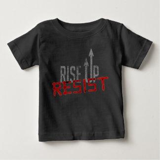 Levez-vous, résistez au T-shirt foncé du Jersey de