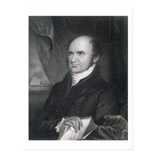 Lévi Woodbury, gravé par Robert E. Whitechurch ( Carte Postale