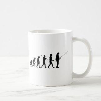 L'évolution de l'homme mug