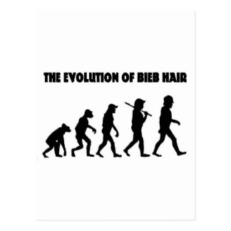 L'évolution des cheveux de B Cartes Postales