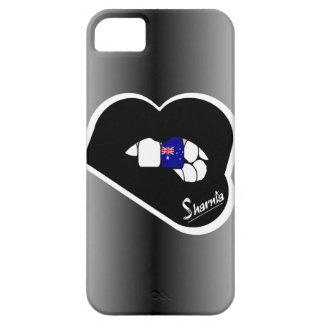 Lèvre de noir de cas de téléphone portable de coques iPhone 5