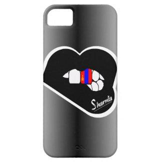 Lèvre de noir de cas de téléphone portable de la coque Case-Mate iPhone 5