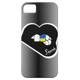 Lèvres de noir de cas de téléphone portable de étui iPhone 5
