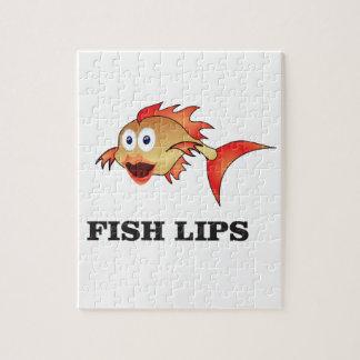 lèvres de poissons puzzle
