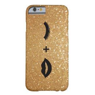 Lèvres + Mèches graphiques Coque iPhone 6 Barely There