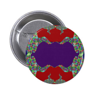 LÈVRES pourpres : L'espace pour ajouter le nom de Badge Avec Épingle