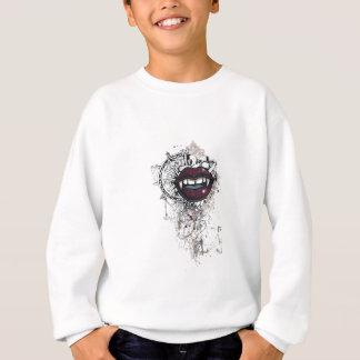 lèvres vintages de Dracula Sweatshirt