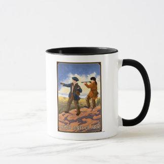 Lewis et Clark explorant l'ouest Mug