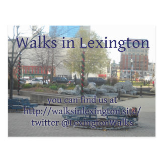 Lexington marche carte postale