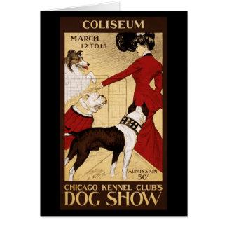 L'exposition canine du club de chenil de Chicago Cartes