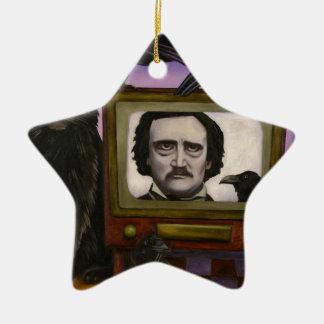 L'exposition de Poe Ornement Étoile En Céramique