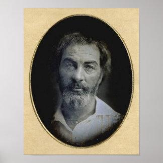 L'expression dans vos yeux : Walt Whitman, âge 35 Posters