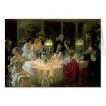 L'extrémité de Dinner, 1913 Carte De Vœux