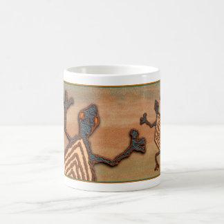 Lézard antique mug