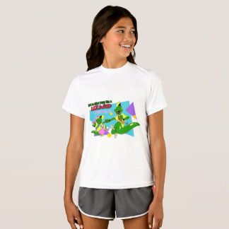 Lézard AP de BOGP : Pièce en t de représentation T-shirt