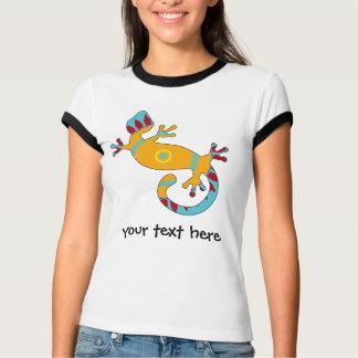 Lézard coloré de Gecko d'amusement T-shirt