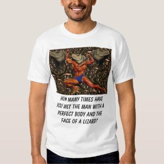 Lézard, combien de fois vous ont rencontrés t-shirt