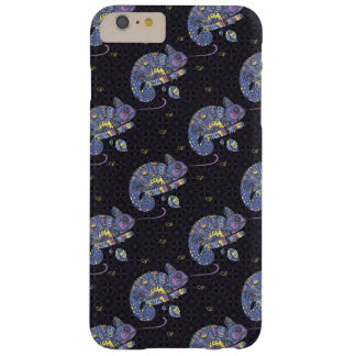 Lézard de Zentangle Coque Barely There iPhone 6 Plus