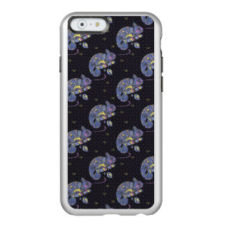 Lézard de Zentangle Coque iPhone 6 Incipio Feather® Shine