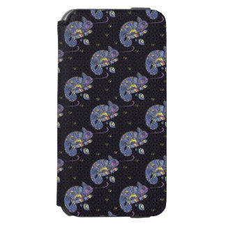 Lézard de Zentangle Coque-portefeuille iPhone 6 Incipio Watson™