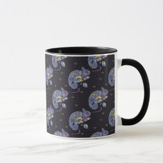Lézard de Zentangle Mug