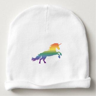 Lgbt de licorne d'arc-en-ciel bonnet de bébé