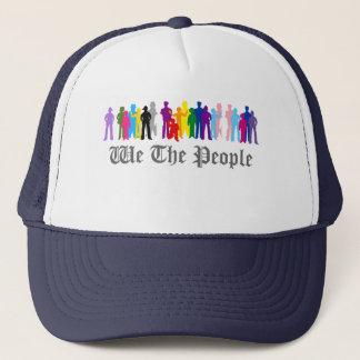 LGBT nous le casquette de camionneur de conception