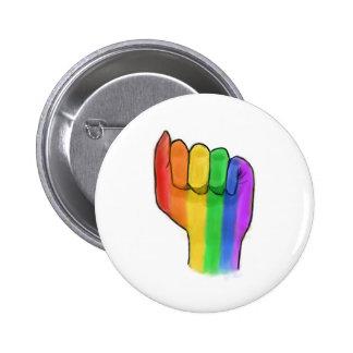 LGBTQ+ Pin de bouton de fierté Badge