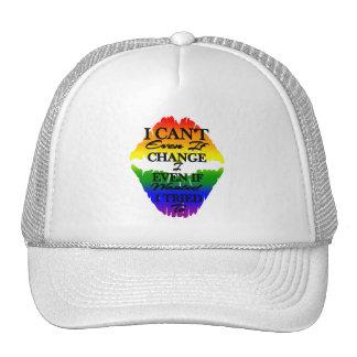 LGBTQIA I ne peut pas changer même si j'ai voulu à Casquettes