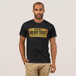 L'habillement américain de base des hommes D'OR de T-shirt