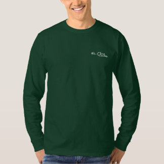 L'habillement foncé des hommes de Mahi-Mahi T-shirt