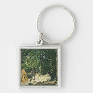 l'Herbe de sur de Claude Monet | Le Dejeuner, Porte-clés